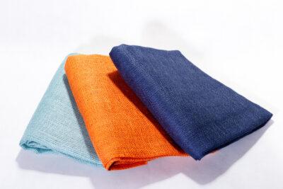 Dekorationsgewebe 211 g / qm – Jutezuschnitte gefärbt